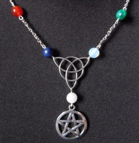 Wiccan Wholesale Charms Pagan Pentacle Charm Gun Metal Black Charm  30pc Black Star Necklace Pentacle Jewelry Black Pentacle Pendant