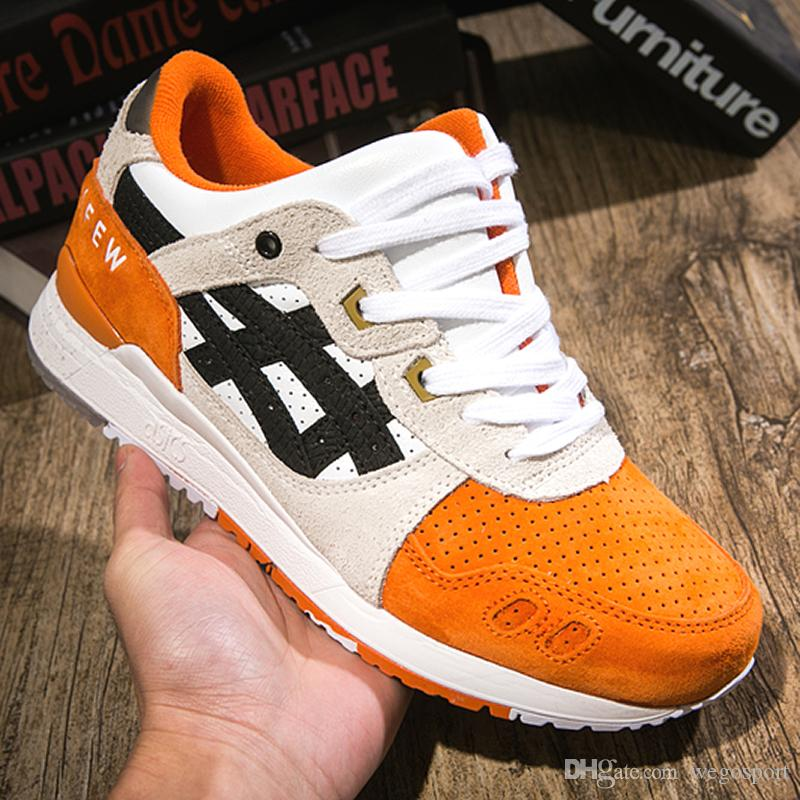 premium selection 282ea 6baa0 2019 2019 Asics GEL LYTE III Men Women Running Shoes New Orange Koi H820L  Best Quality Designer Shoes Sport Sneakers Size 36 44 From Wegosport,  $91.38 ...