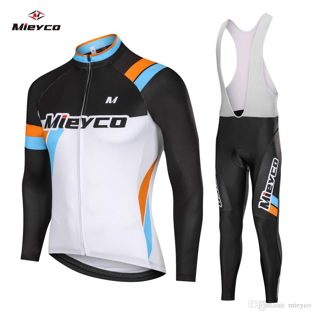 الخريف ركوب الدراجات طويلة الأكمام الزي الرجال 2020 فريق برو اللباس الدراجة عدة BIB الملابس دراجة ملابس تناسب mallot MTB جيرسي مجموعة الرياضة