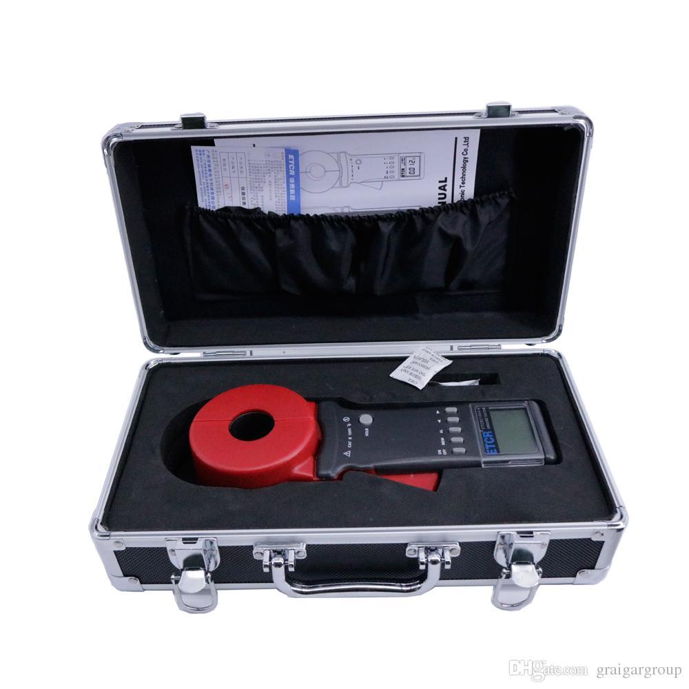 ETCR2100A + Zemin Üzerinde Taşınabilir Dijital Kelepçe Toprak Direnci Test Cihazı Metre