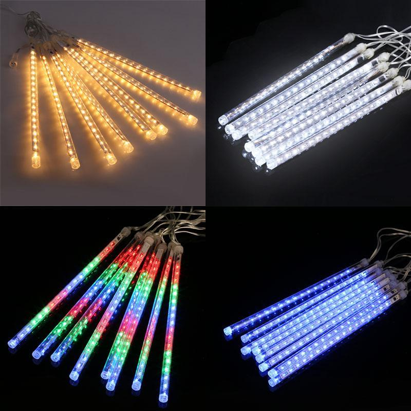 Connectable Multi -Color Meteor Tube Meteor Shower Rain String Led Christmas Light Wedding Party Garden Xmas String Light Outdoor Zj0455