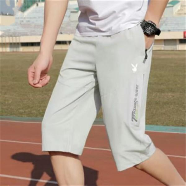 Mens Designer de Verão Shorts calças moda 4 cores impressas com cordão Shorts 2019 Sweatpants Luxo Homme Relaxado