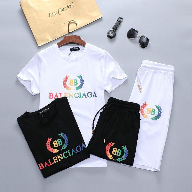 2020 Designer Luxus-Mode neue Kurzarm-T-Shirt für Männer Luxusmarke Revers lässige T-Shirt mit kurzen Hosen frei Logistik M-XXXL-06