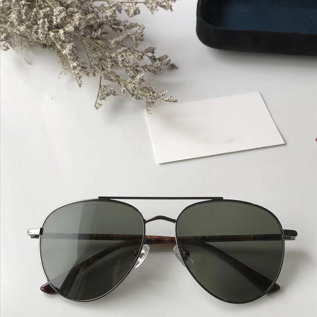 2020 Le nouveau concepteur de mode lunettes de soleil 0388 cadre pilote avant-gardiste de style d'été de qualité supérieure lunettes de protection UV400 populaire
