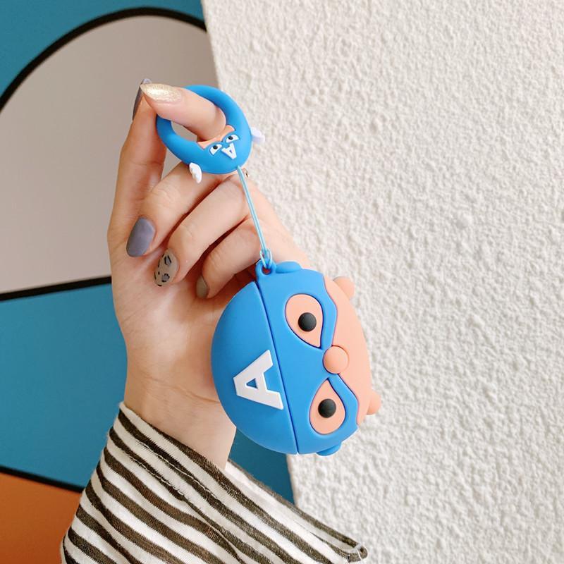 Airpods caso Airpods Pro TPU Shell protettivo per Airpods 3rd Generation senza fili Bluetooth Cartone animato di protezione Moda morbida shell-
