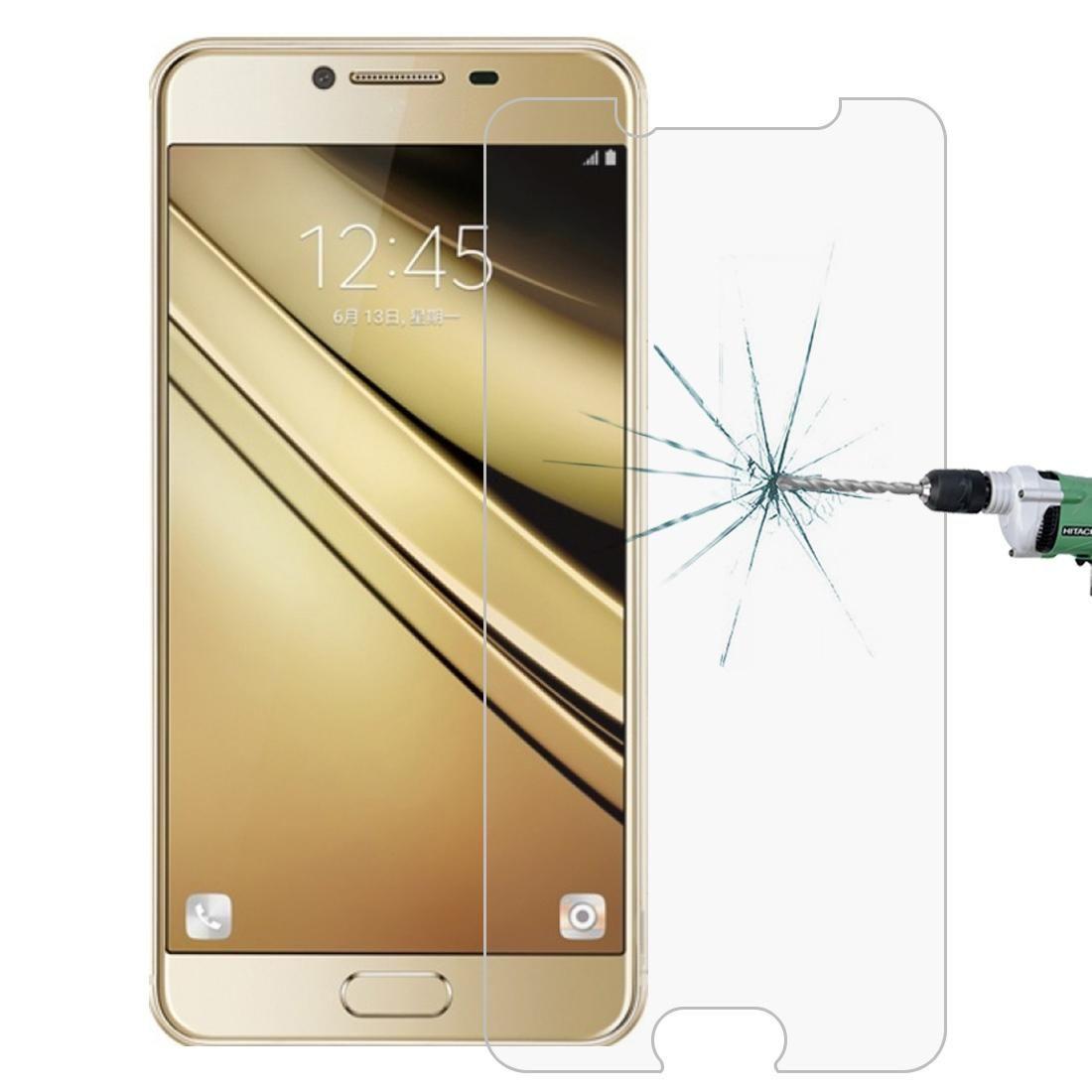 Для Galaxy С7 / C700 0.26 мм 9 H твердость поверхности 2.5 D взрывозащищенные закаленное стекло пленка