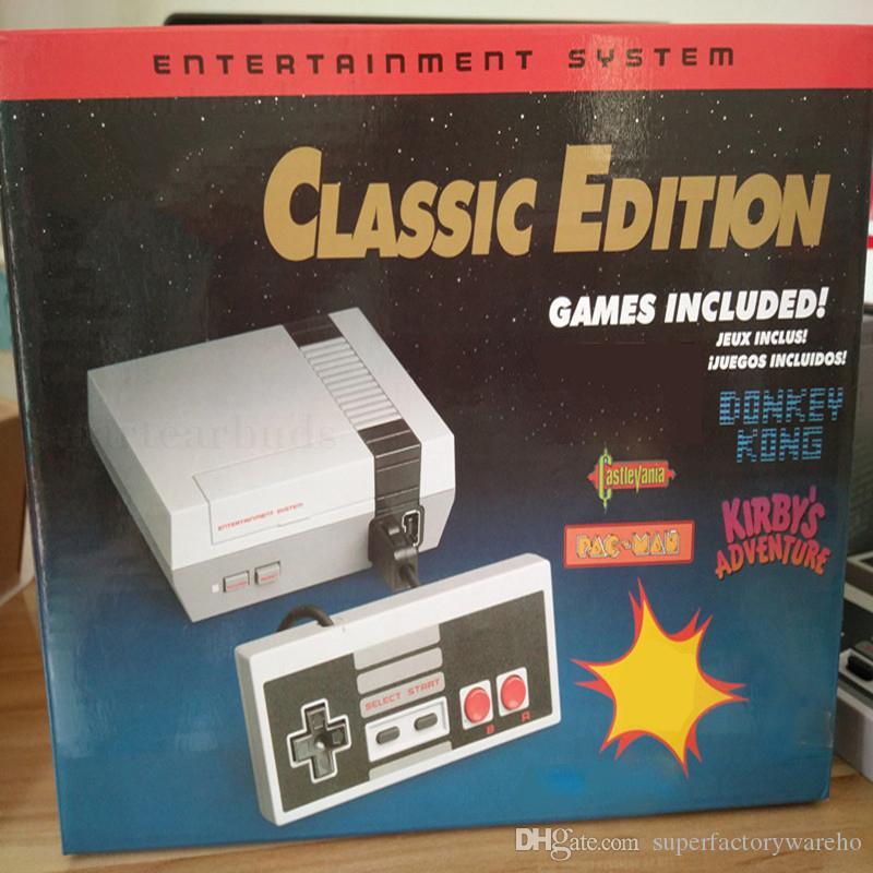 소형 NES 텔레비젼 게임은 소형 게임 장치를 운영합니다 소매 상자를 가진 500 게임 이중 게임 관제사 AV 케이블 산출을 저장할 수 있습니다 VS PS4 PXP3 PVP