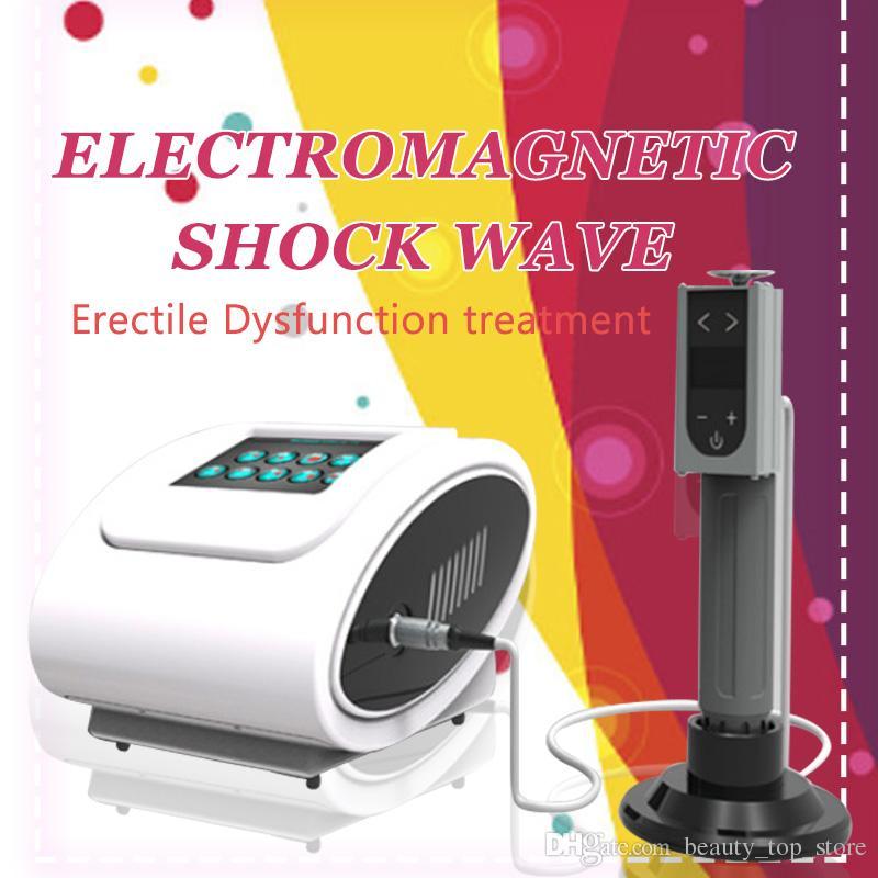L'équipement électrique portatif de thérapie par ondes de choc de thérapie physique pour le traitement d'ED a utilisé / la machine de thérapie par ondes de shcock pour le traitement d'ED