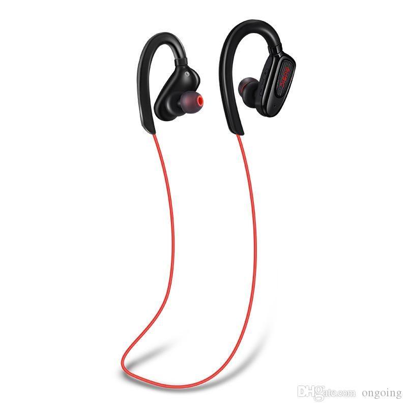 S5 Kablosuz Spor Bluetooth Kulaklık CSR4.1 Stereo Kulak Kulaklık Eller serbest Çağrı Kulaklık ile MIC Epacket Ücretsiz