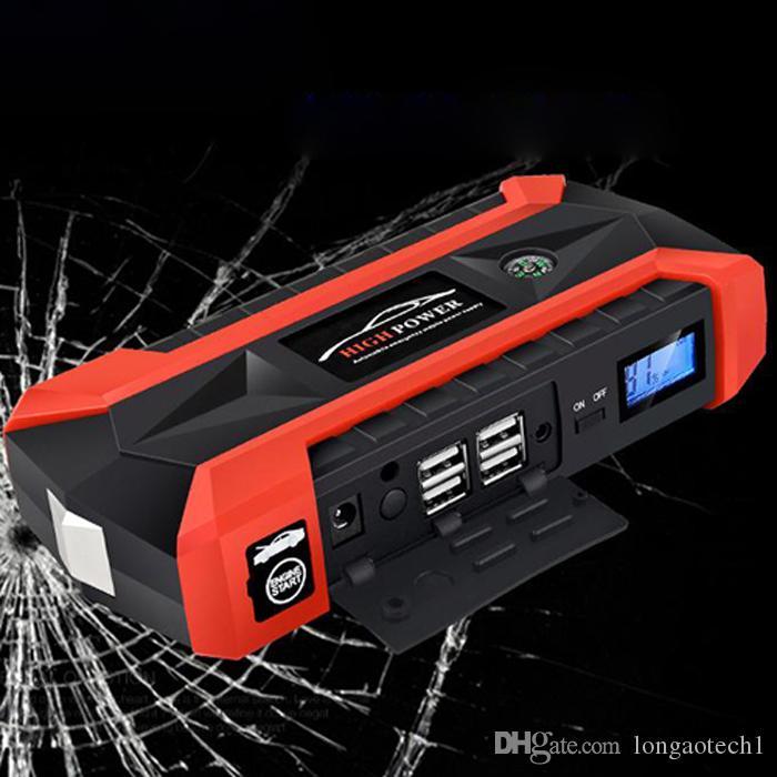 nuovo 600A Peak 20000mAh 12V portatile Car Jump Starter emergenza utensili elettrici portatile auto salto di avviamento