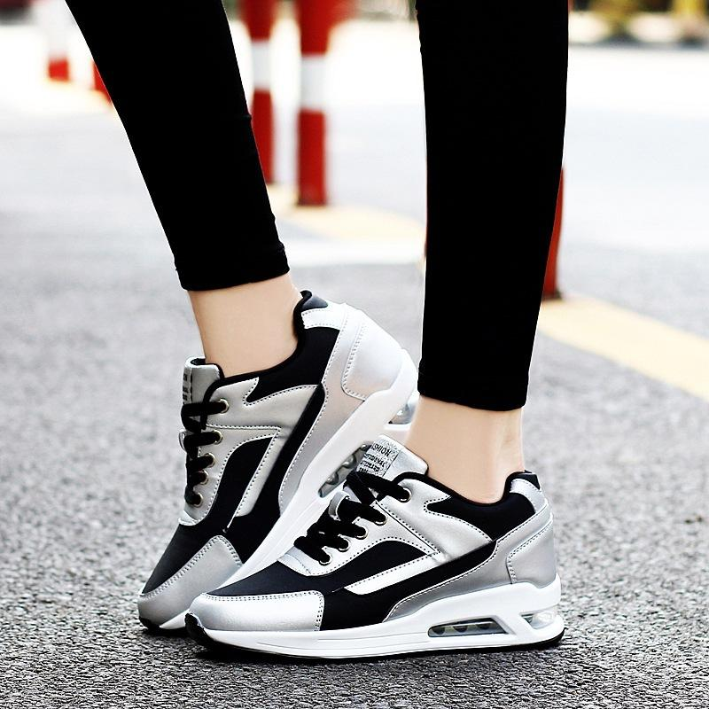 Men/'s Air Cushion Basketball Shoes Boots High Top Sports Sneakers Breathable Gym