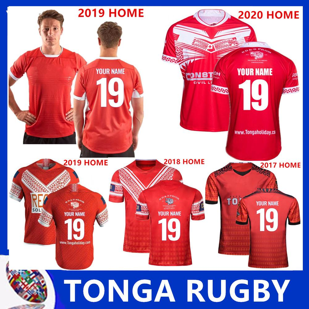 2019 2020 jersey ligue TONGA Nationl LIGUE maillot domicile rugby maillots chemise Ligue maillot taille rugby Tonga S-5XL
