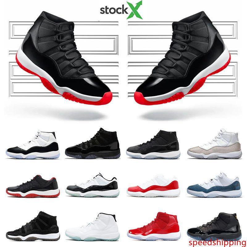 2020 мужская баскетбольная обувь 11С новый, выведенный из змеиной кожи металлический серебряный Конкорд 45 23 гамма синий 11 женские спортивные тренеры кроссовки размер 5.5-13