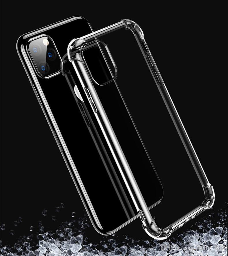 Прозрачный мягкий чехол для телефона TPU для iphone 11 11pro 11promax универсальный чехол для телефона iphone x xs xr xsmax 6 7 8plus