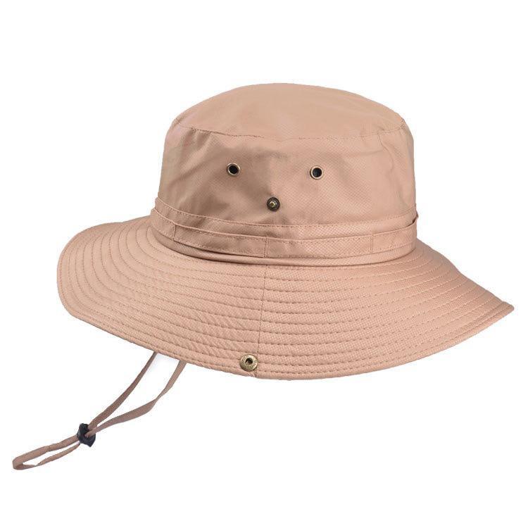 Unisex Water Repellent Summer Safari Bucket Fisherman Tour Sun Hat Cap  ONE