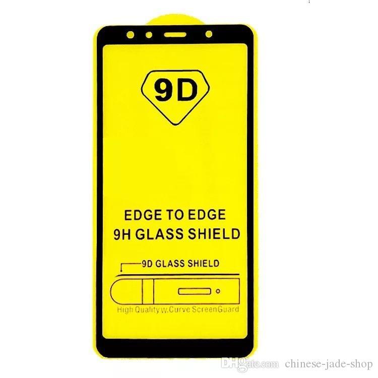 Full Cover 6D 9D Tempered Glass Screen Protector AB Glue Edge to Edge FOR Samsung Galaxy M30 A10 A20 A30 A40 A50 A60 A70 A80 A90 550pcs/lo