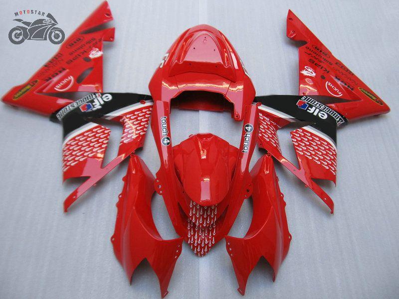 Gratis Custom Backings Kit voor Kawasaki 2004 2005 Ninja ZX-10R ABS Plastic Motorfiets Fairing Kits 04-05 ZX10R 04 05 ZX 10R