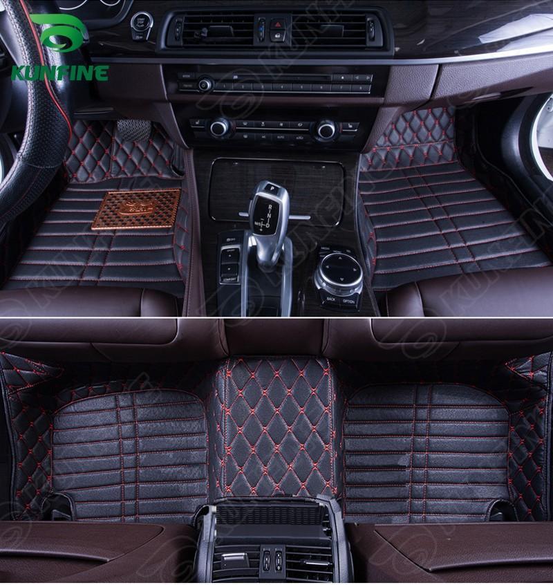 alfombrilla de coche de calidad superior 3D para ENCORE coche de la estera del cojín del pie del pie 4 colores de la mano izquierda envío de la gota controlador