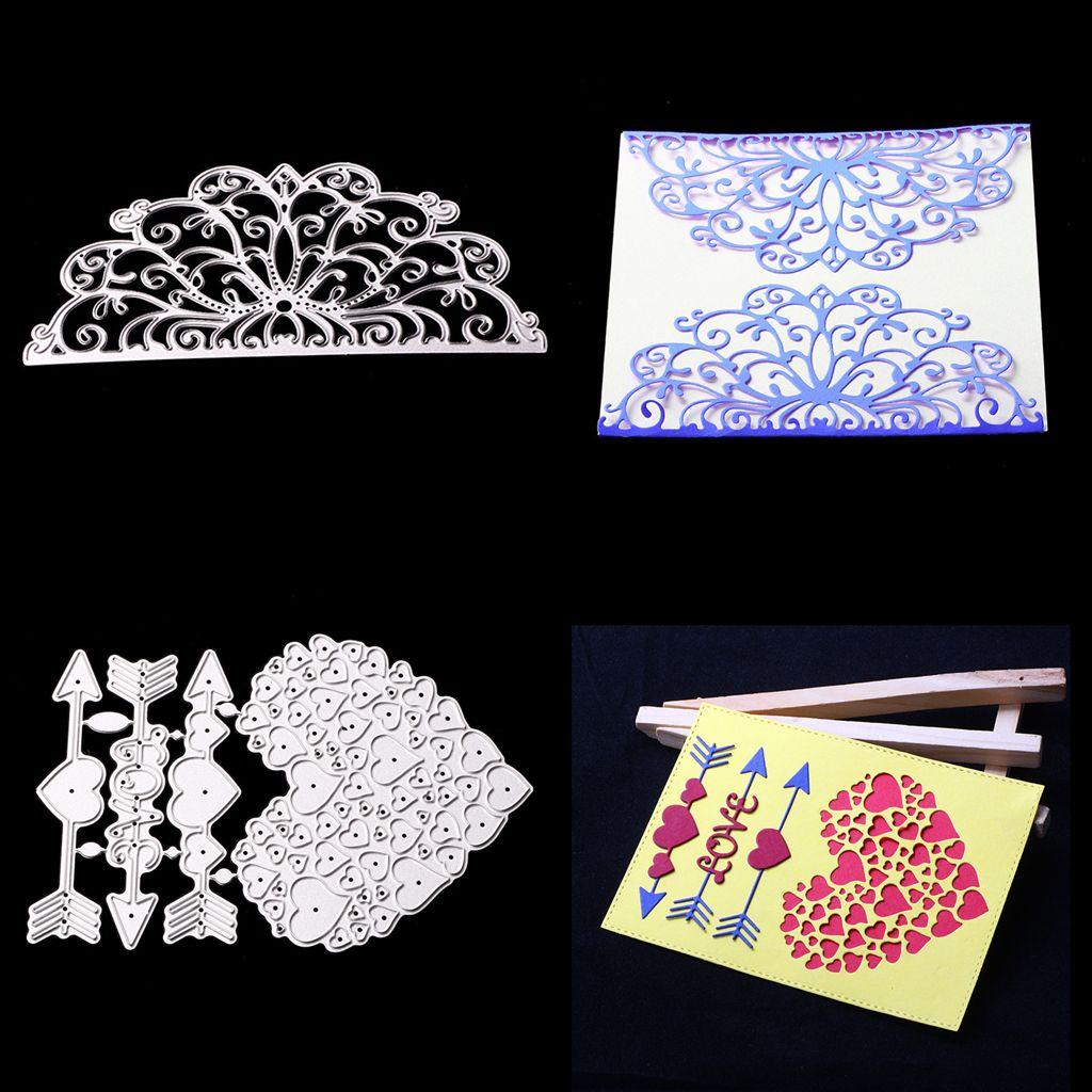 Metal Corte muere Stencils scrapbooking relieve Die corte de Bricolaje Decoración de Arte de papel