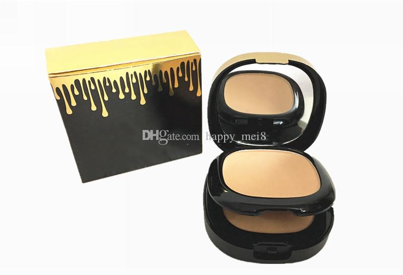 Factory Direct DHL Free Shipping New Makeup Face Powder Plus Foundation Too Layer With Powder Puff!30g 3658