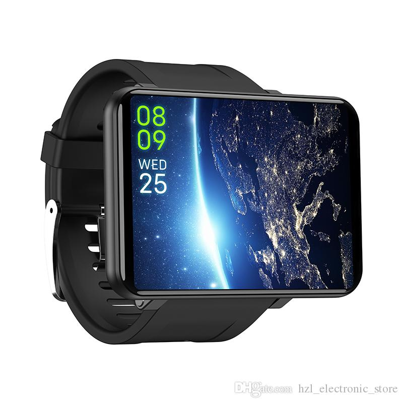 2020 Mais novo Esporte Android Smart Watch Telefone 3GB 32GB 2700mAh Big Battery 500W Camera GPS WiFi SIM MP4 4G SmartWatch PK DM98 DM99