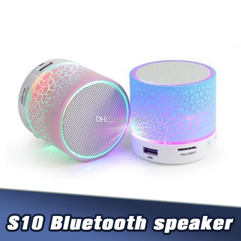 2020 S10 Bluetooth Speaker Stereo Mini Speaker Portable Blue Tooth Subwoofer Mp3 Player Music Usb Player Laptop Speaker From On1e 2 27 Dhgate Com