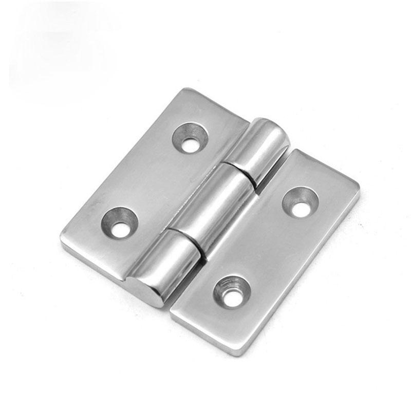 75 * 75mm kapı menteşesi dağıtım Kabine PS Anahtarı Kontrol kutusu ağ vaka enstrüman Tekne yat kabine menteşe uydurma donanım parçası
