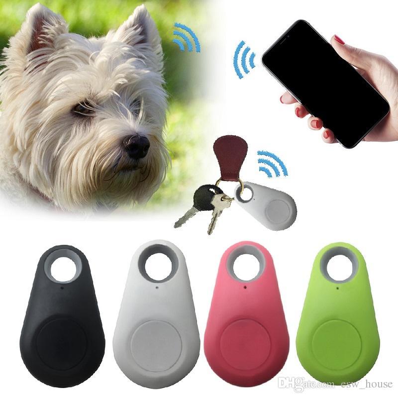 Animali intelligente Mini GPS luetooth tracciante Pet Child Locator GPS Tag allarme raccoglitore chiave Tracker Bambini Trackers Finder Attrezzature