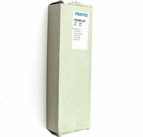 1pc Nuevo para FESTO válvula de solenoide CPE24-M2H-5J-3/8 163811 ENVÍO # YP1