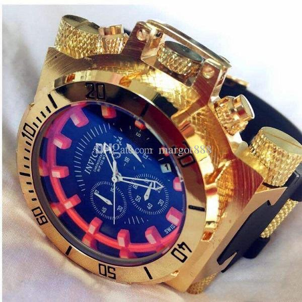 INVICTA Outdoor Sports Calendar DZ Quartz Men's Watch Night Light All functions can be operated Rotating dial