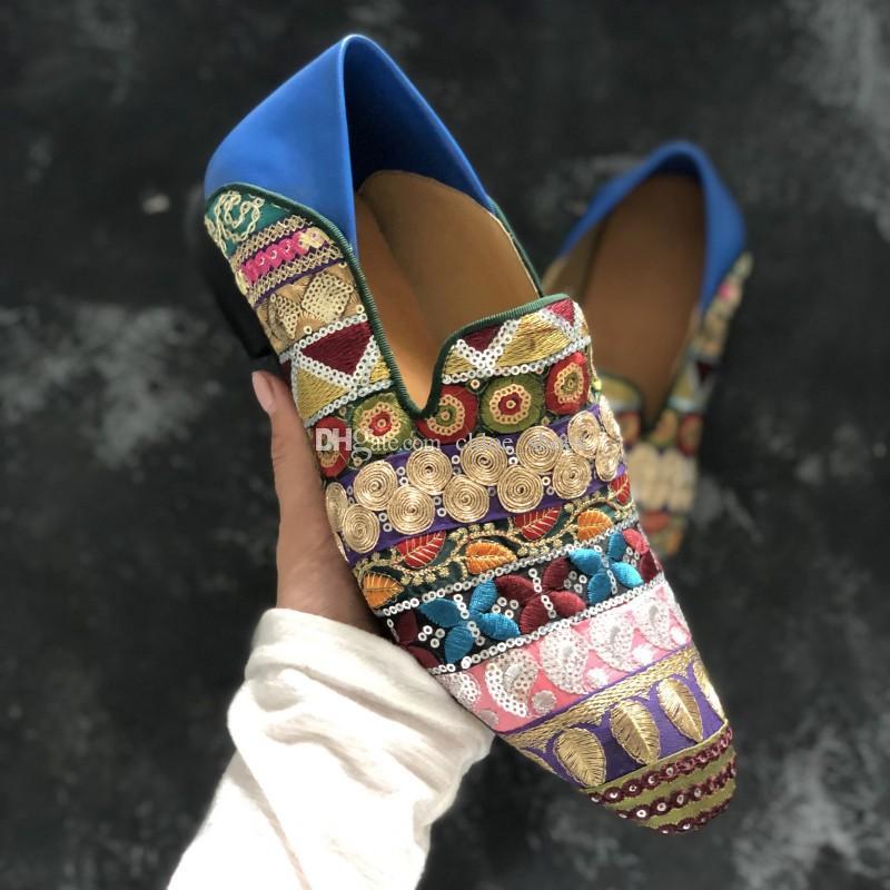 ручной вышивки красные нижние обувь для мужчин плоские туфли горячие мужчины свадебное платье обувь весна мокасины