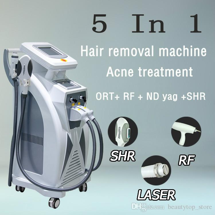 2019 Professional OPT hair removal IPL laser machine skin rejuvenation laser tattoo removal pigmentation removal beauty spa salon clinic use