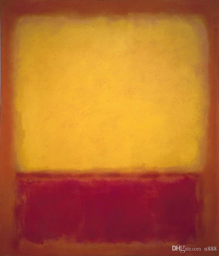 Mark Rothko Fig New Home Decor Handcrafts /HD Print Oil Painting On Canvas Wall Art Picture 191111