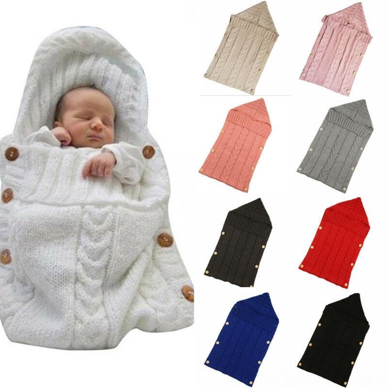 Newborn Baby Infant Toddler Swaddle Wrap Blanket Bath Towel Robe Sleeping Bag