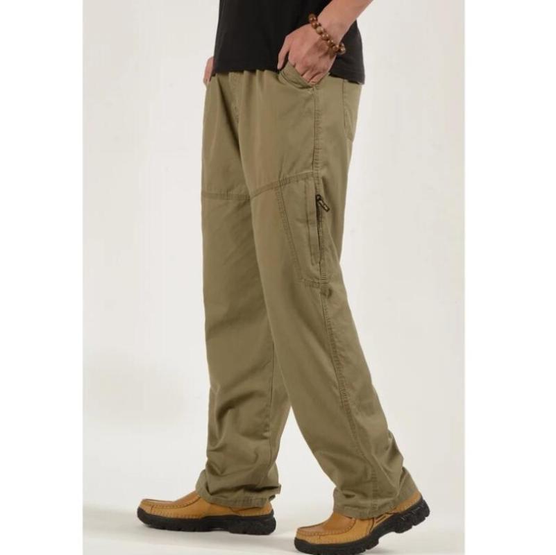 2020 hommes Salopette Cargo Pantalons Hommes en vrac combat Pantalon tactique armée coton homme Pantalons Casual Taille Plus 5XL 6XL W730