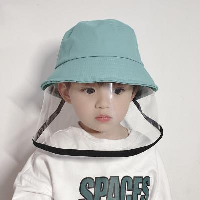 Children's Anti-fog Hat Spring Thin Anti-saliva Fisherman Hats Cotton Baby Hat Child Protective Basin Hat EEA1316-1