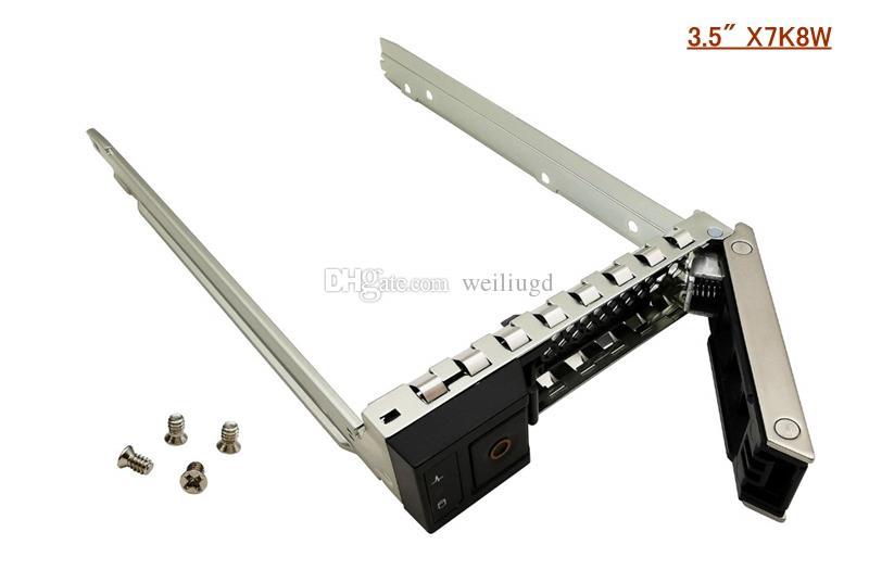 """3.5 """"X7K8W SAS SATA DURS DURCULT CADDY BANDIBLE CAJERACIÓN COMPATISE CON POWEREDEVER SERVIDOR R440 R540 R640 R6415 R740 R740XD R7415 R7425 C6420 Ser"""