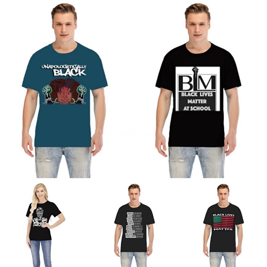 Vie noire Matière! Crâne T Designer Hauts Vêtements pour hommes Mode d'été femme Tee Hauts T-shirts Noir Blanc Nouveau # 52398