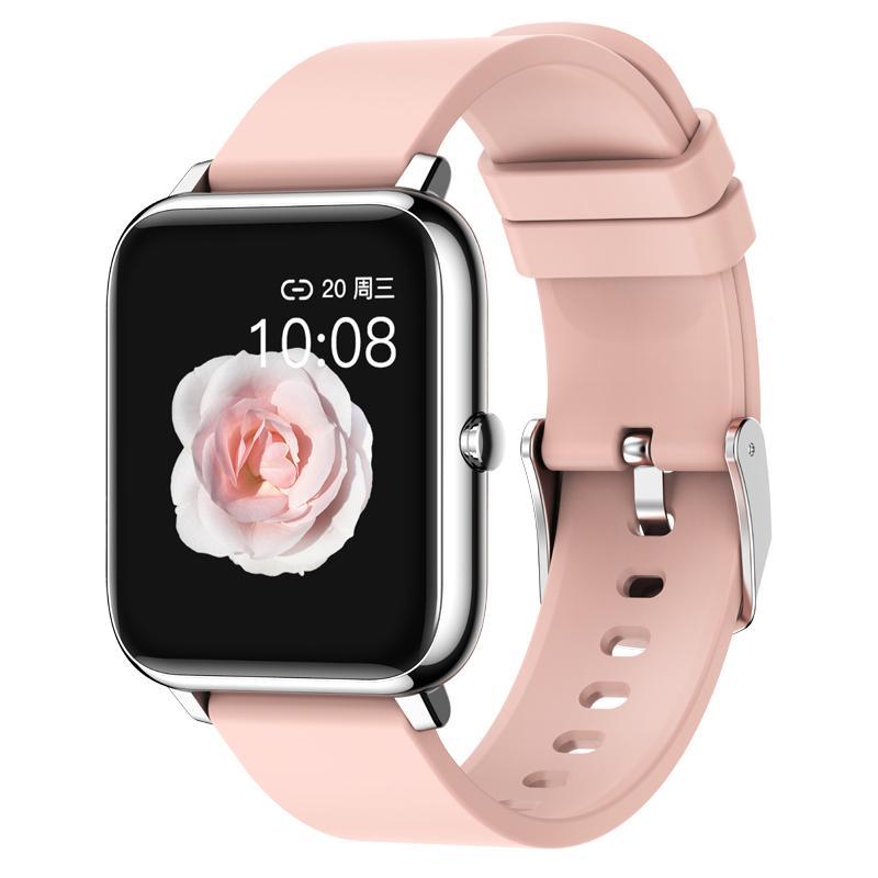 1pcs P22 Sport intelligente Guarda frequenza cardiaca sonno Monitoraggio contapassi Alarm Clock Trova Bracciale adulti per Iphone Samsung Huawei