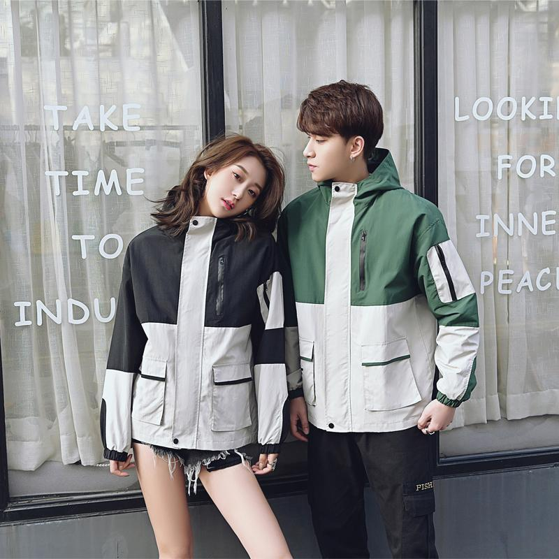 Same Gender Brand Fashion Sport Jackets Mens Designer Spring Thin Coats Womens 2020 New Arrive Casual Sportswear Hot 2 Colors