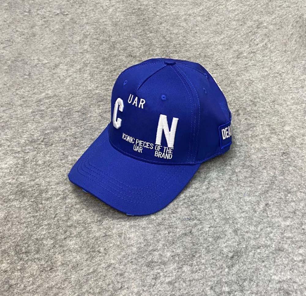 العلامة التجارية CAP للجنسين القطن قبعات البيسبول خطابات الرجال النساء التصميم الكلاسيكي شعار هات سنببك Casquette أبي القبعات 6803