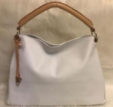 mulheres designer de moda ombro saco de lona pu artística bolsas de ombro M40249Pure Cor Feminino Handbag Bolsa de Ombro Bolsa flor