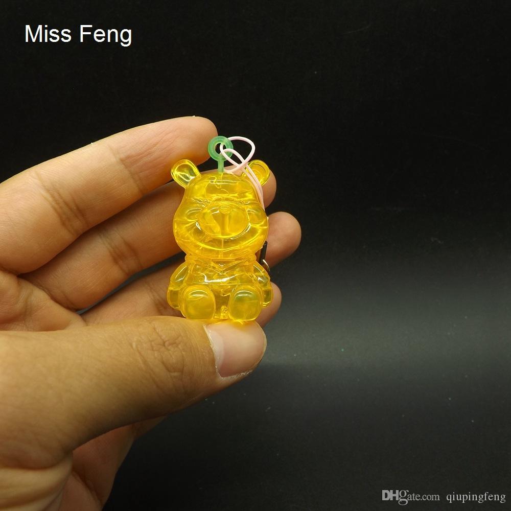PP025-Bear-Y / Çocuklar İçin Özel Çocuk Oyuncakları 3D Kristal Bulmaca Ayı
