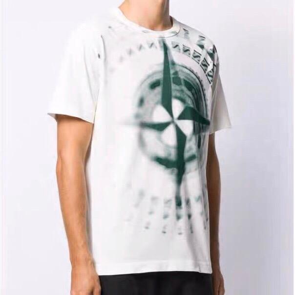 Hommes T-shirt Hip Hop Hommes de haute qualité d'été T-shirt manches courtes en coton Mode manches courtes Hip Hop Sport.009