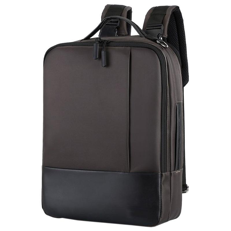 Men Women Zipper Work Single Shoulder With USB Port Daily Soft Anti-theft Accessories Tote Waterproof Nylon Laptop Backpack