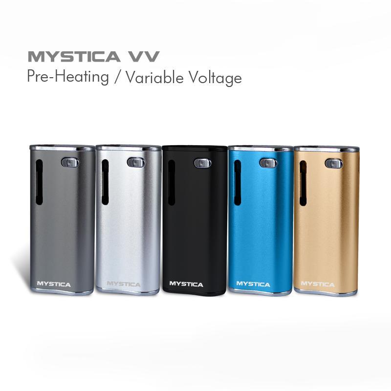 Authentic Airis Mystica VV battery V11 Kit 650mah Vape Battery Vaporizer Oil BUD Starter Kit Box Mod Vape Pen DHL free