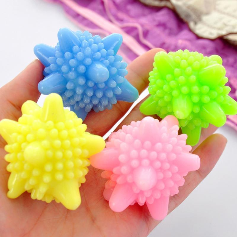 مكافحة التفاف حماية غسل الملابس الكرة التطهير تنظيف الكرة غسالة غسل أدوات الغسيل البلاستيكية الصلبة DH0082
