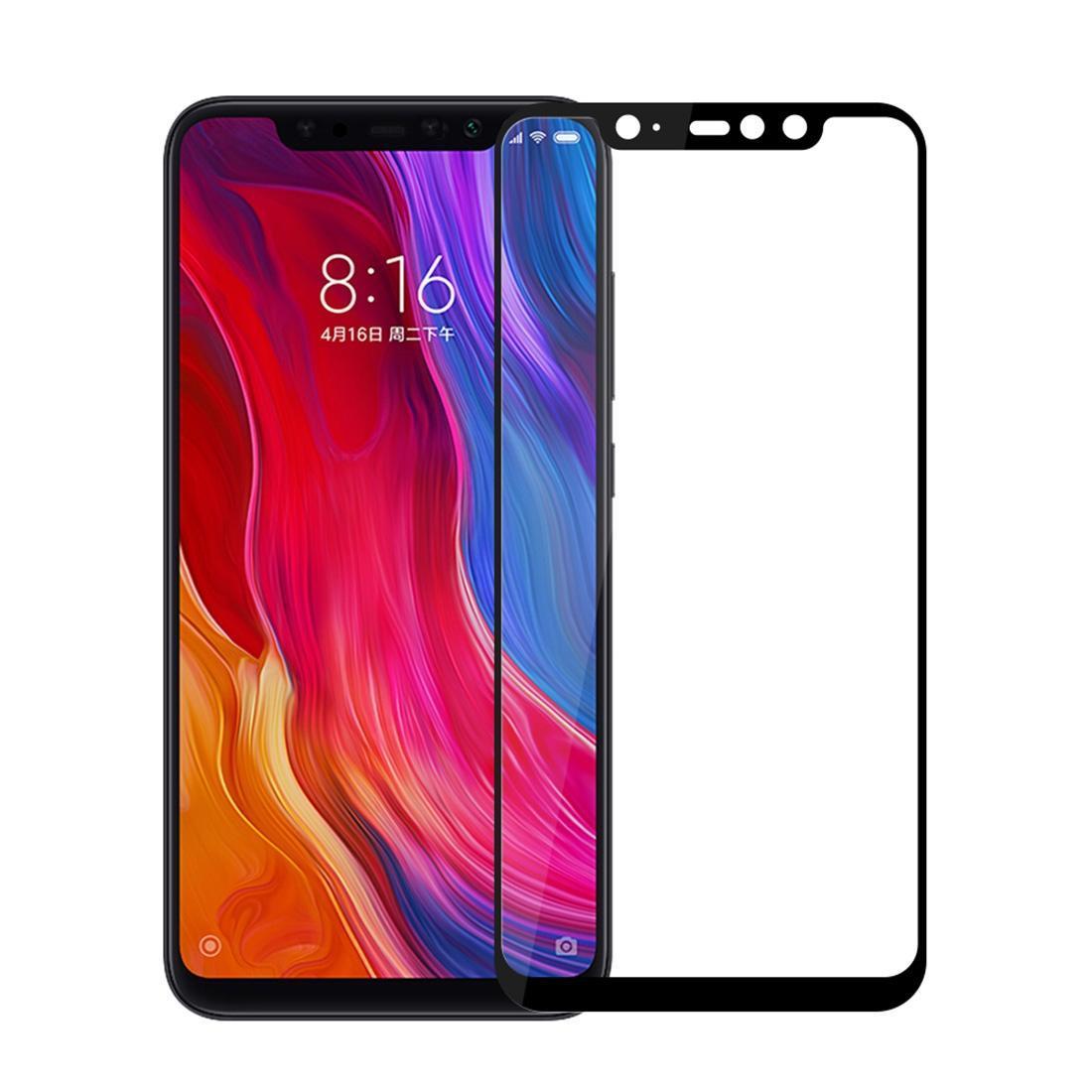 Случая 9Н твердость поверхности 2.5 D край дуги полный экран закаленное стекло пленка для Xiaomi Pocophone Ф1