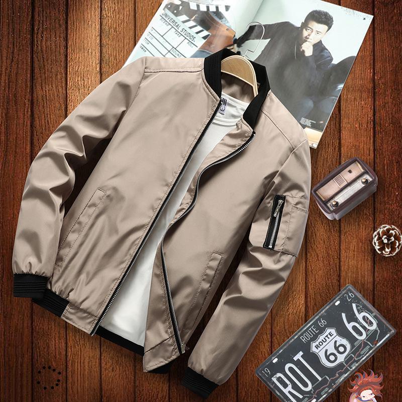 Весна и осень конструктора Mens куртка люкс куртка с карманами для мужчин вскользь Hot Brand Mens Clothings высоко качества Оптового