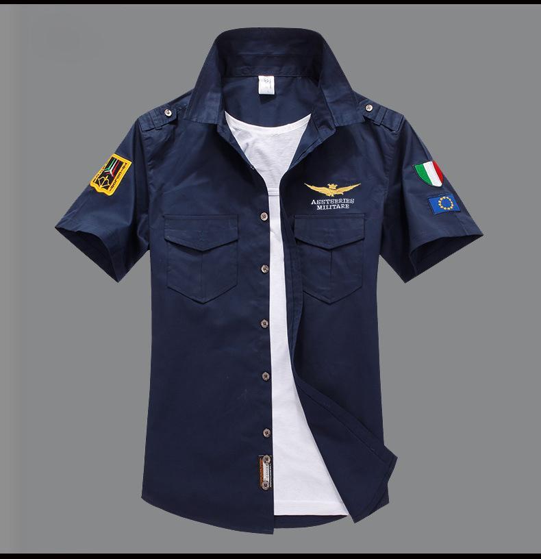 Hommes Chemises à manches courtes Designer Fashion Casual chemise brodée de luxe Handsome d'été Slim Fit T-shirt New Arrvie 10 couleurs Top